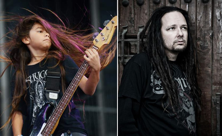 Korn's 12-year-old bass player