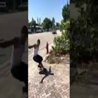 Guy Almost Gets Killed Attempting To Backflip Off A Car!