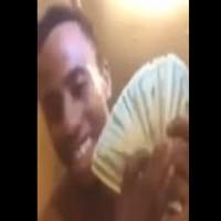 Drug Dealer showing $$ on fb Live gets Raided
