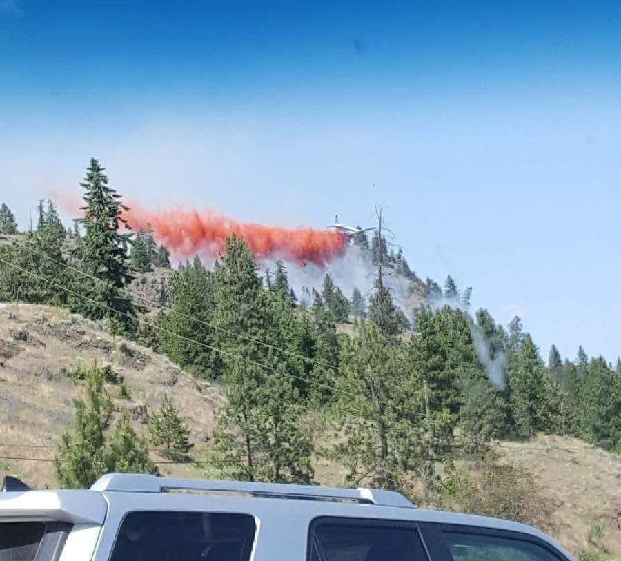 First Wildfire of the Season, Okanagan Lake Level Dips a Bit, Still No Sign of Missing Plane
