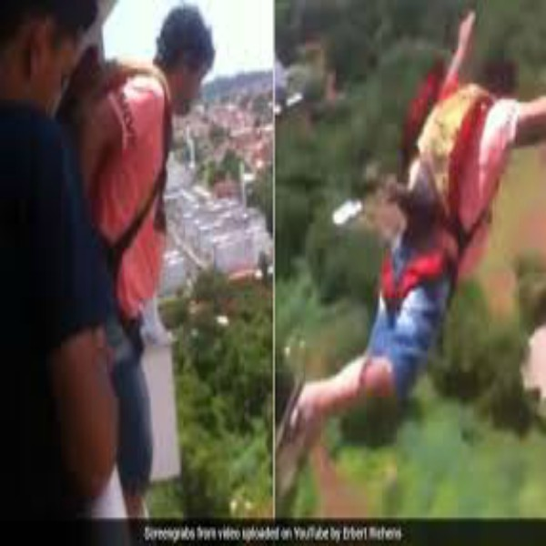 Man Buys Parachute And Jumps Off His Balcony