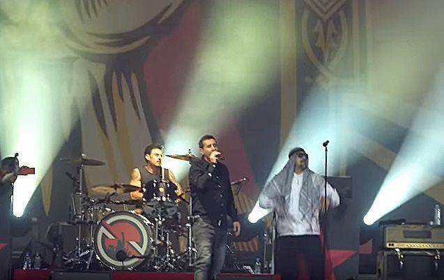 Serj Tankian + Audioslave perform Like A Stone