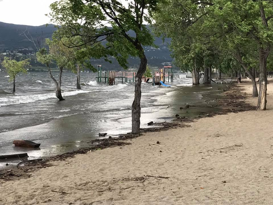 Wind and Waves for Lake Today, Westside Road Wildfire Almost Out and A New Online Help Service