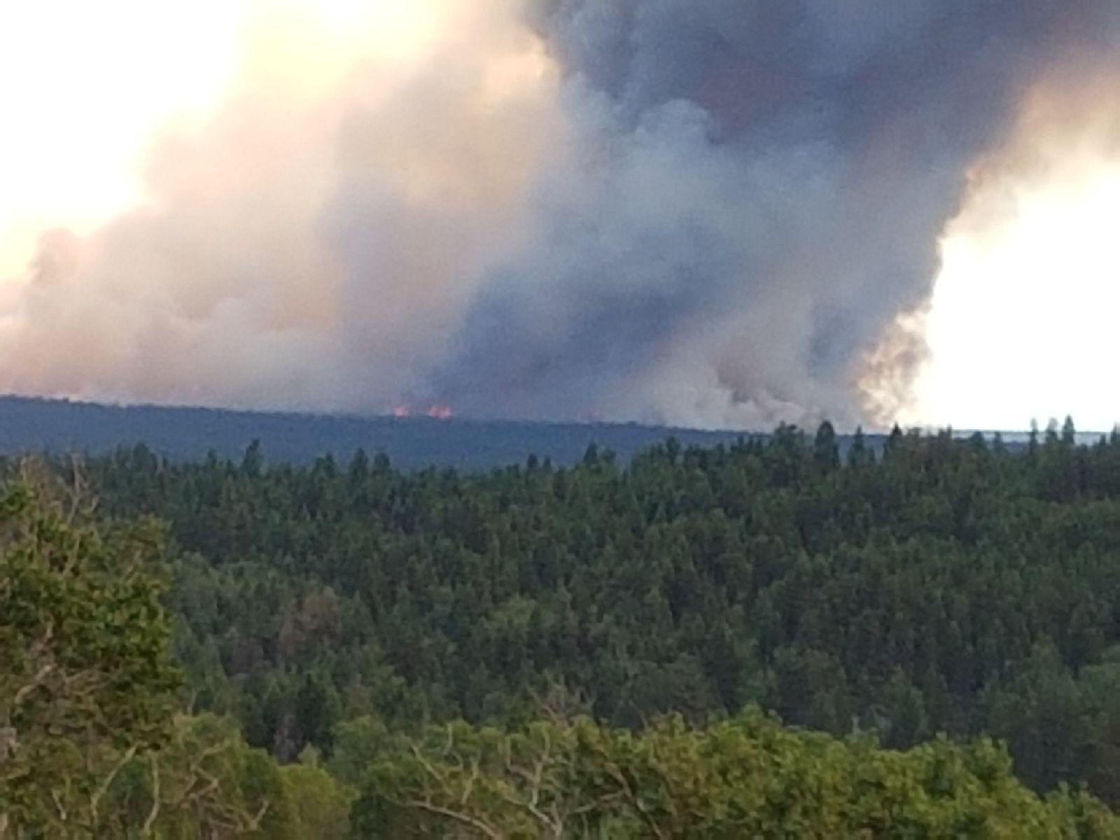 Massive Cariboo Wildfire, Campfire Ban In Effect Here Today, and New Location For Kelowna Farm Market