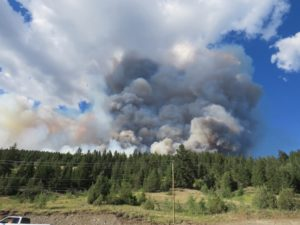 Gustafson Fire in Cariboo