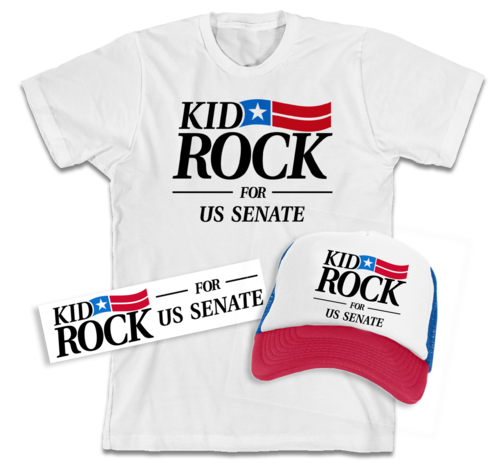 Kid Rock Senate Swag