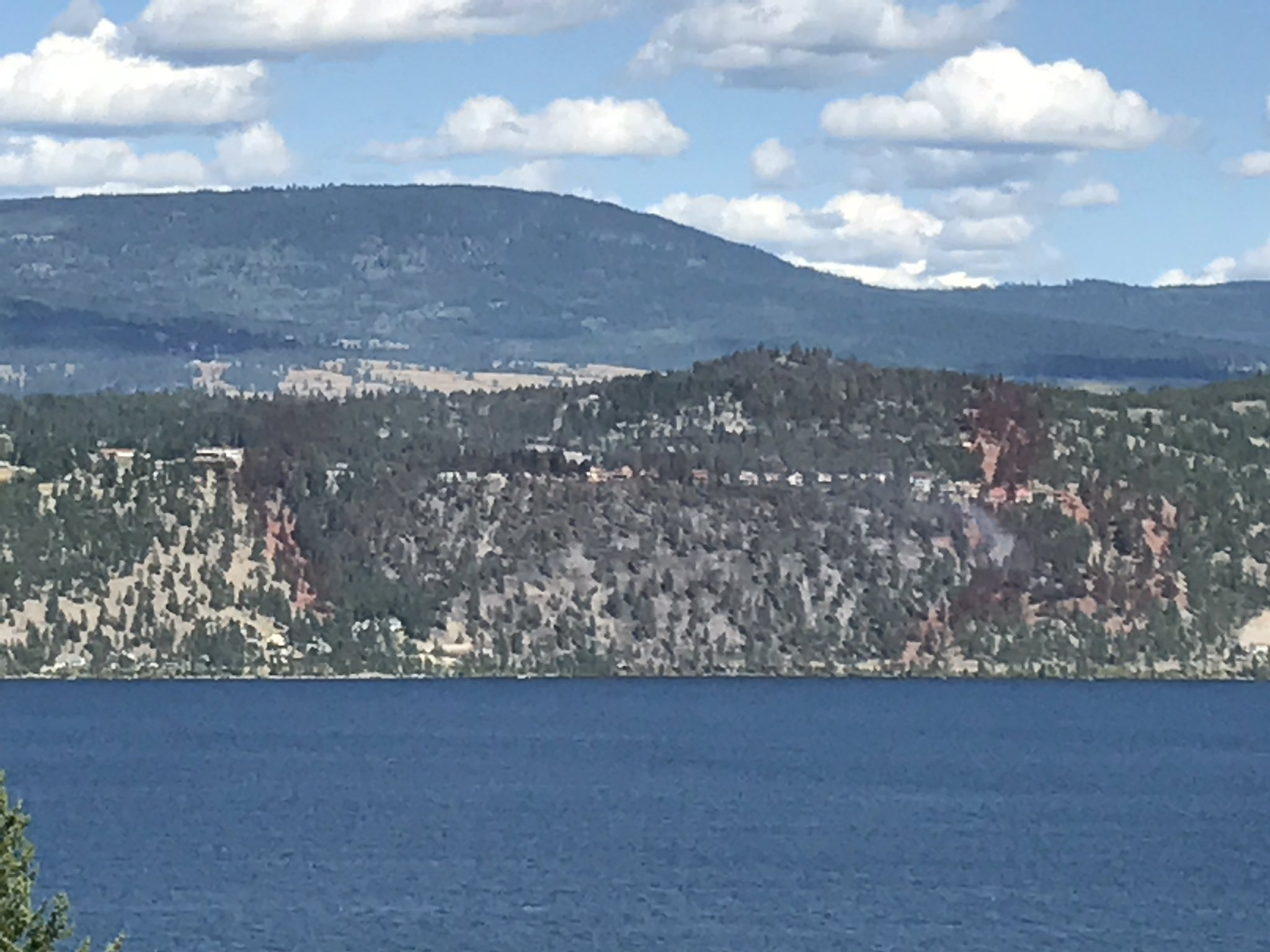 1,300 Evacuees Here, Lake Country Fire 90% Contained and Kelowna Man Dies While Hiking