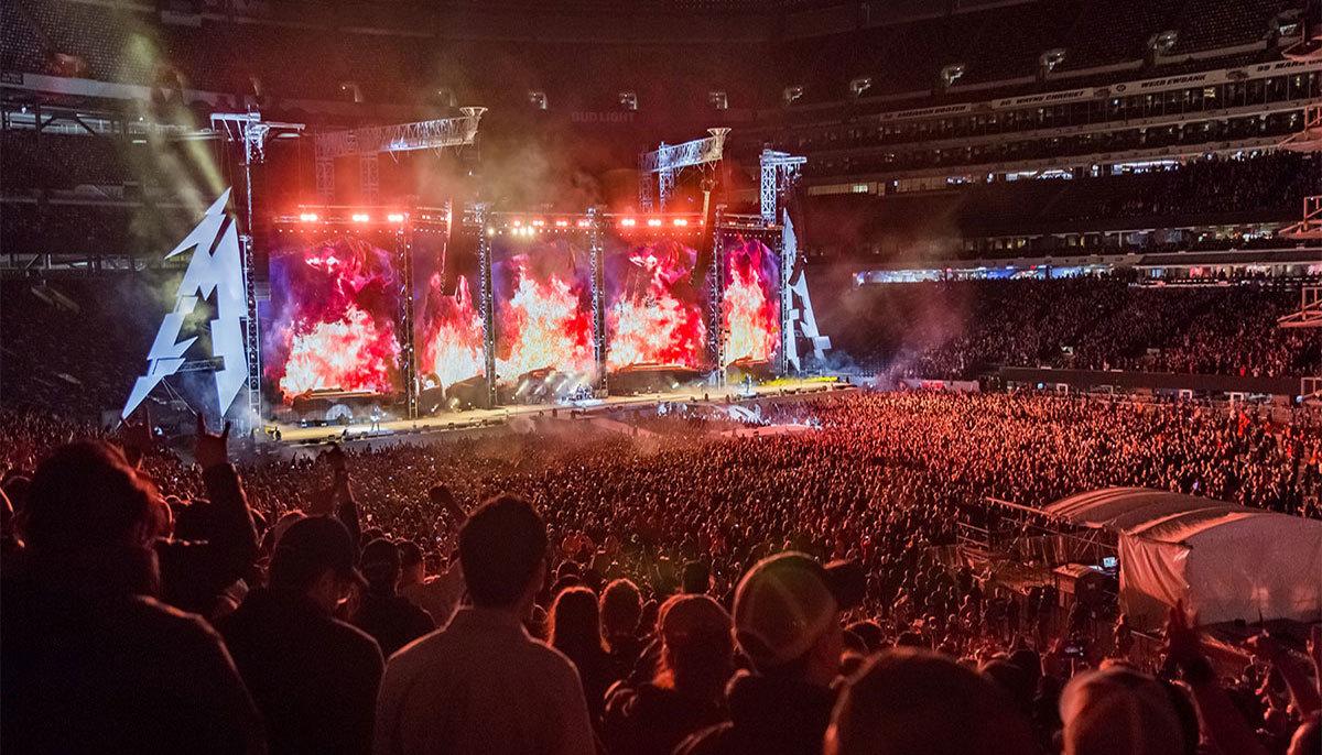 Watch Metallica's Edmonton Show