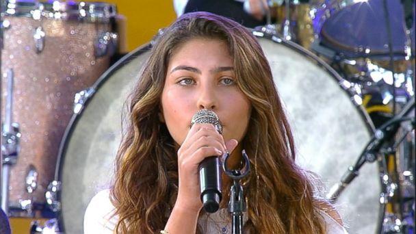 Chris Cornell's daughter sings Hallelujah