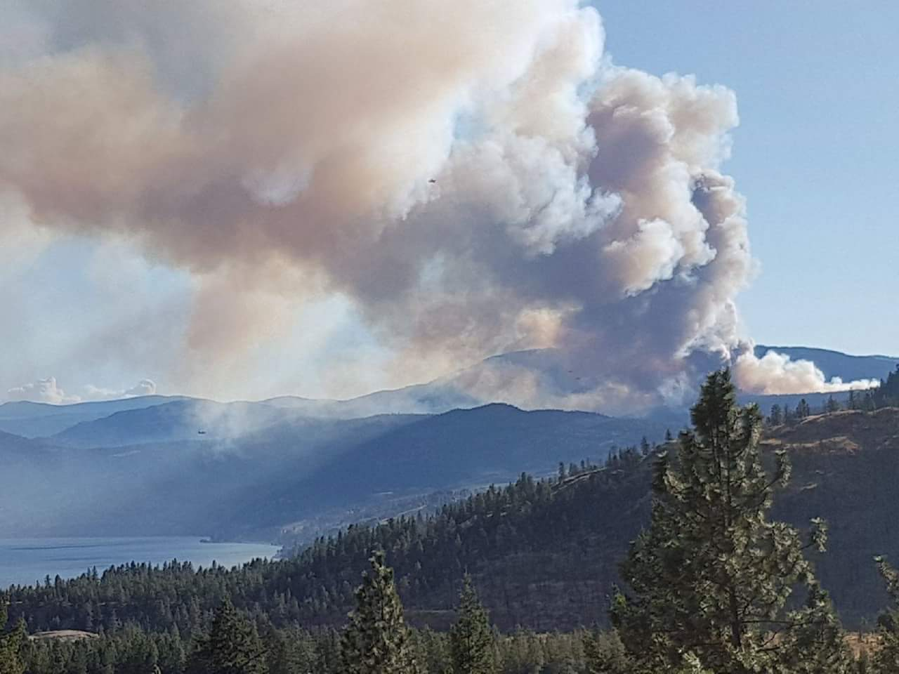 Finlay Creek Fire at 1500 Hectares, School Zones in Effect and Targeted Shooting in West Kelowna
