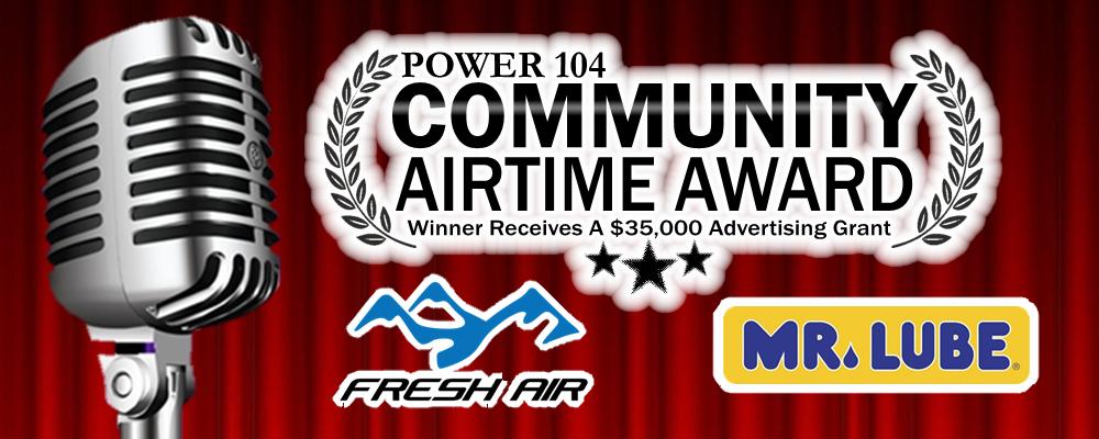 Power Community Airtime Award