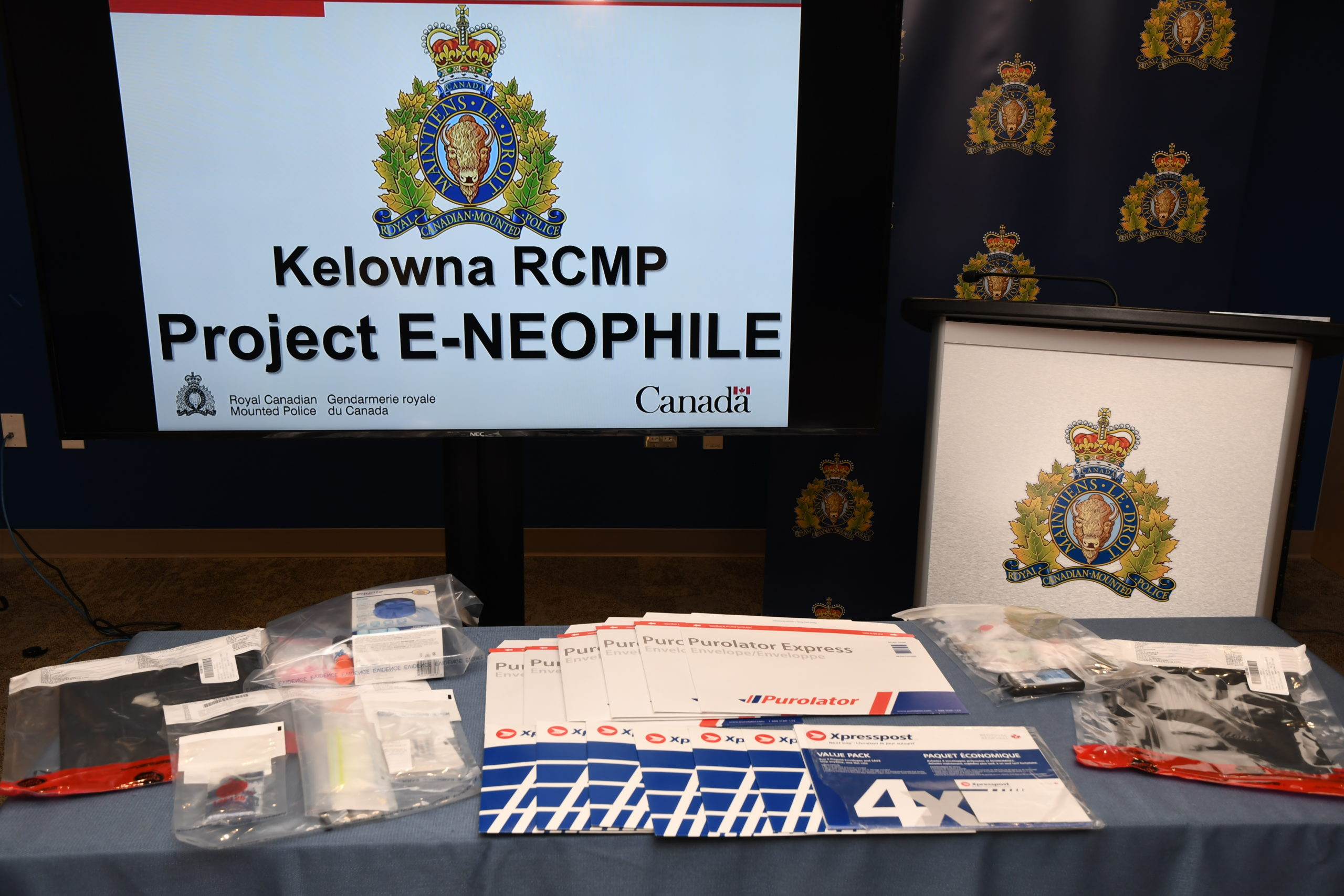 Kelowna Residents Arrested in Dark Web Drug Bust, Cyclist Injured in Rose Valley and Wildfire Budget Busted