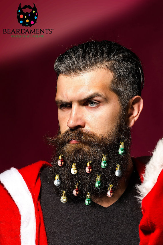 So Christmas Ornaments For Beards Are A Thing