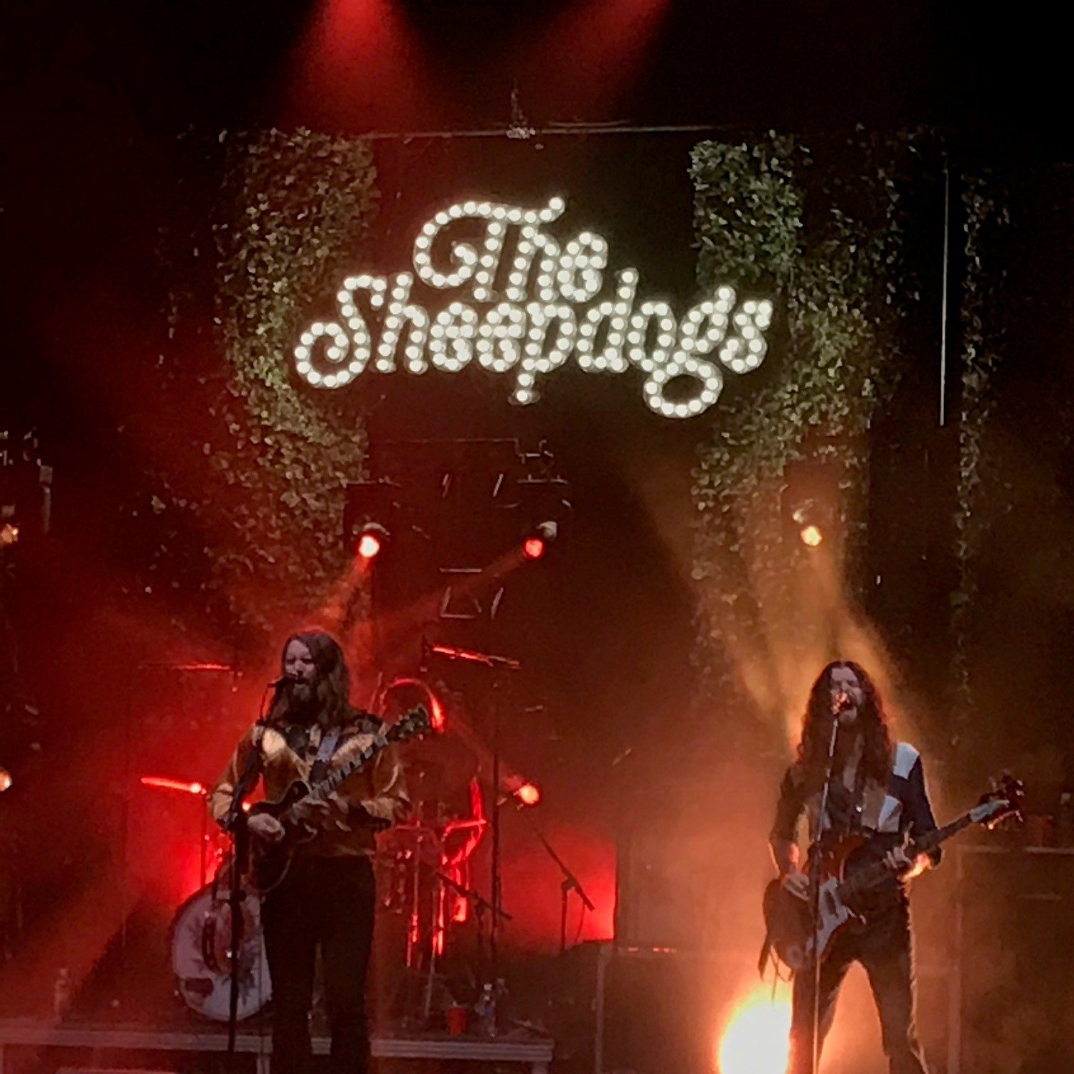 Jazz's night out at The Sheepdogs + Sam Coffey and the Iron Lungs