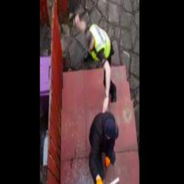 Busted: Thief Gets Caught In The Act Of Breaking In!