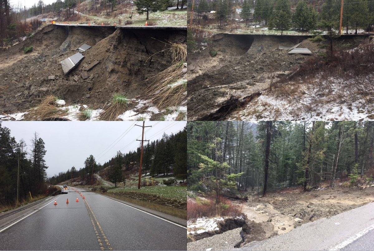Hwy 33 Washout - this is going to take a while!