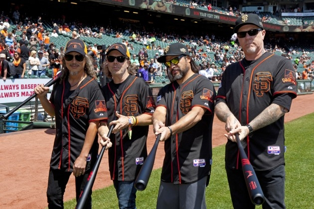 San Francisco Giants Host 5th Metallica Night