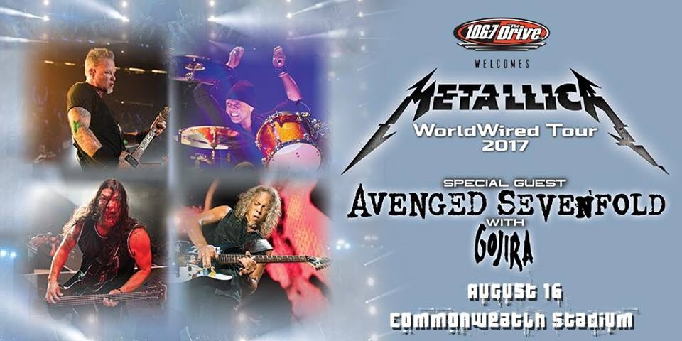 Metallica Announce WorldWired 2017 Tour