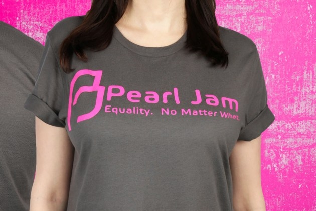 Pearl Jam Fundraising for Planned Parenthood