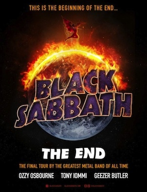 Almost $3M in Ticket Sales for Black Sabbath's Final 2 Shows