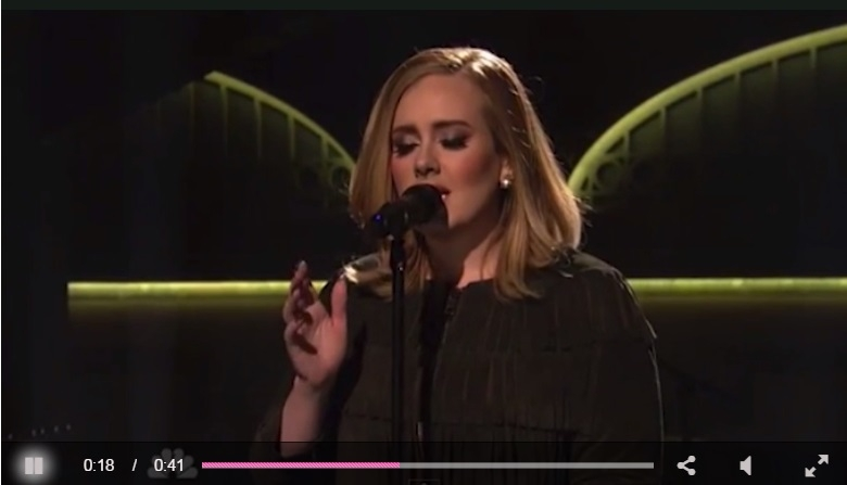 Adele tells The Donald to cease-and-desist!