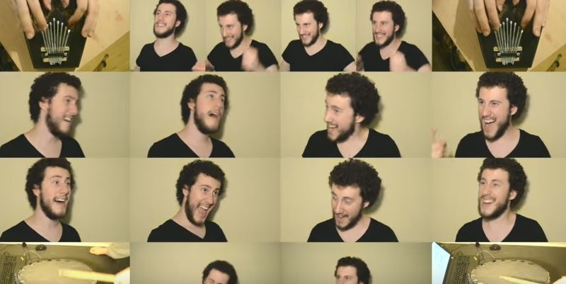 "Beautiful one-man a cappella cover of the Lion King's ""Circle Of Life"""