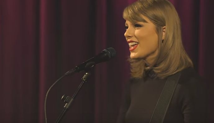 Taylor Swift 'Wildest Dreams' performance at the Grammy Museum