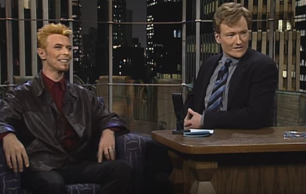 Conan shares his favourite interviews with the man, the legend, David Bowie..