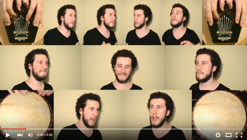A Dustin Diamond Look-a-Like Slays An A Capella Version OF 'Circle Of Life' - WATCH