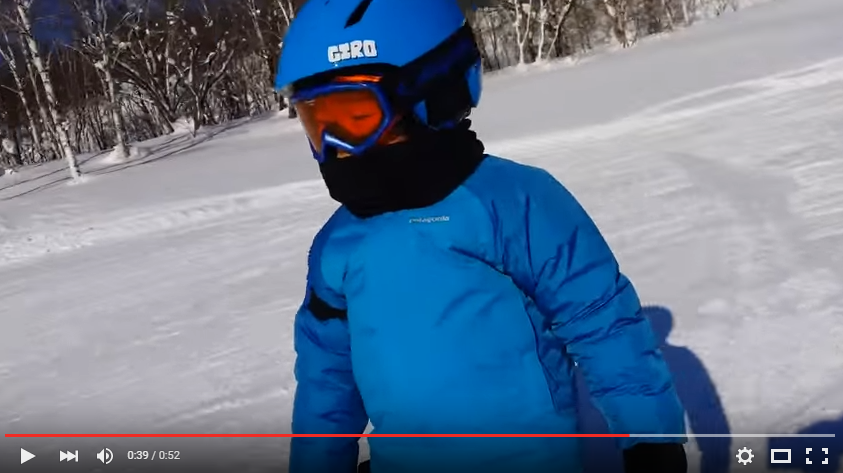 Adorable Young Boy Falls Asleep While Skiing Down The Hill - WATCH
