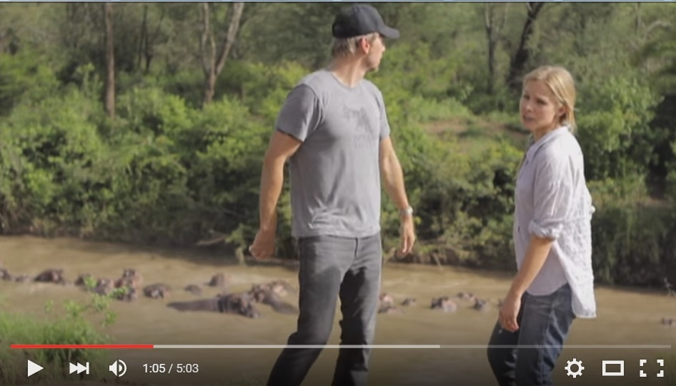 Dax Shepard and Kristen Bell Are The Poster Couple To 'Relationship Goals' When They Make A Music Video On Vacation In Africa - WATCH