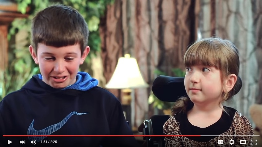 Amazing Big Brother Will Have You Crying Along With Him, When He Talks About How Much He Loves His Little Sister - WATCH