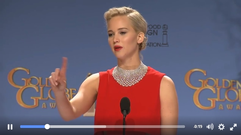 "Reporter Speaks Out After Jennifer Lawrence Was ""Rude"" At The Golden Globes"