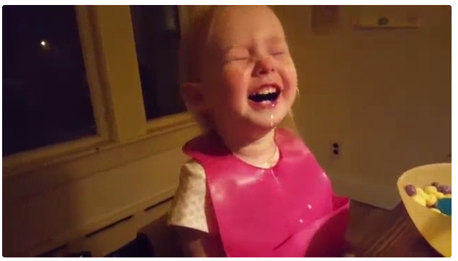 WATCH: This little girl will make you giggle!