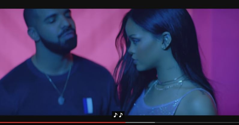 """It's here! Just released, Rihanna's """"Work"""" music video with Drake!"""