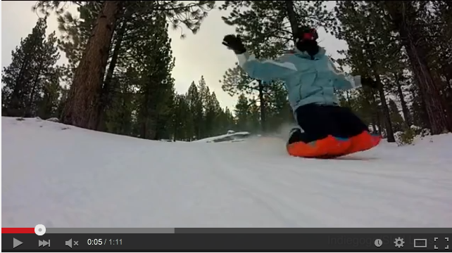 'Sled Legs' Will Be Your New Favourite Winter Sport - WATCH