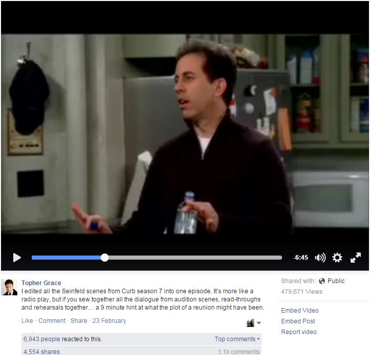 NEW Seinfeld - sort of.  WATCH!