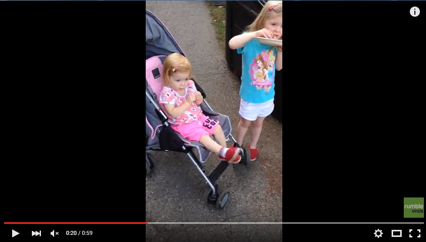 Toddler Just Can't Fight Her Urge To Dance Any Longer - WATCH