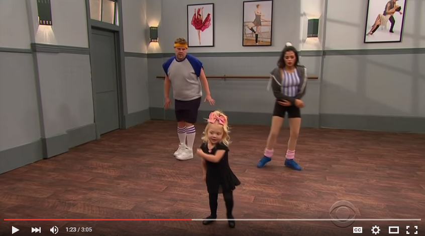 Jenna Dewan Tatum and James Corden Take Dance Lessons From Toddlers - WATCH