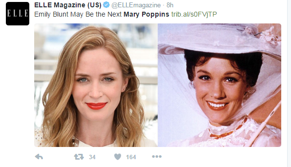 See who might be playing Mary Poppins...