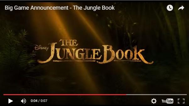 jungle book announcement
