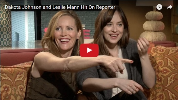 Leslie Mann & Dakota Johnson Hit On Reporter- Who Is Also a Wilfred Laurier University Grad!