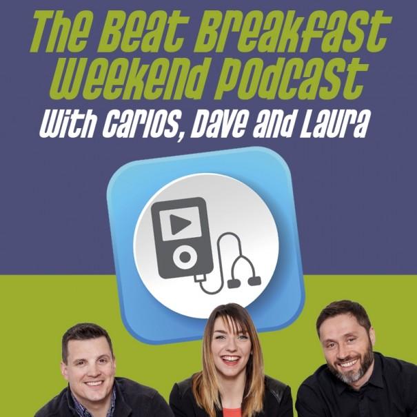 Weekend Podcast #14-We celebrate volunteers on National Volunteer Week, Laura's make-up admission & a cute twist on the 'kiss cam'