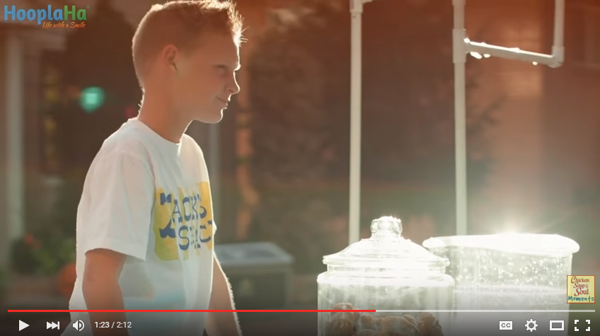 11 Year Old Hosts Annual Lemonade Stand To Purchase Wheelchairs For People In Need - WATCH