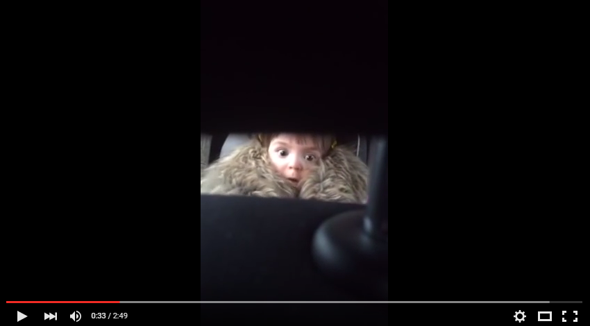 Toddler Has Best Reaction To Jaws Theme Music As Parents Watch On In Secret - WATCH
