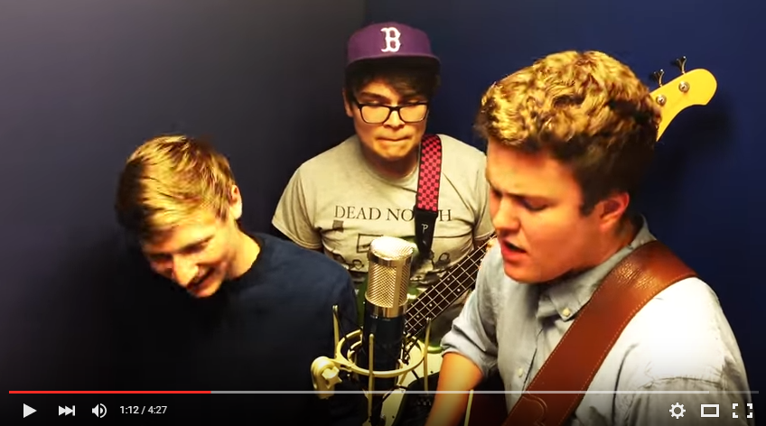 3 Guys Record Stunning Rendition of 'No Diggity' in an 8X5 Recording Room - WATCH