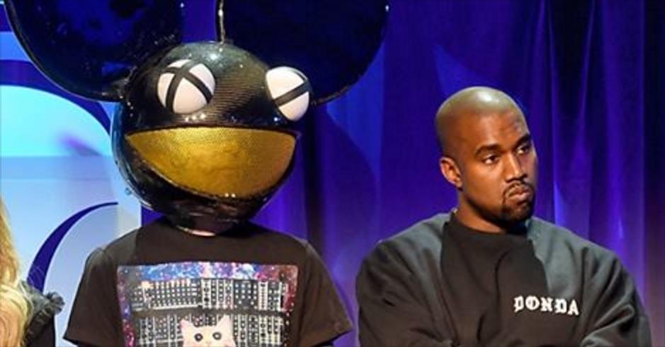 Kanye West Has Gone OFF On Twitter Again: He's Trolling Deadmau5 Pretty Hard!!