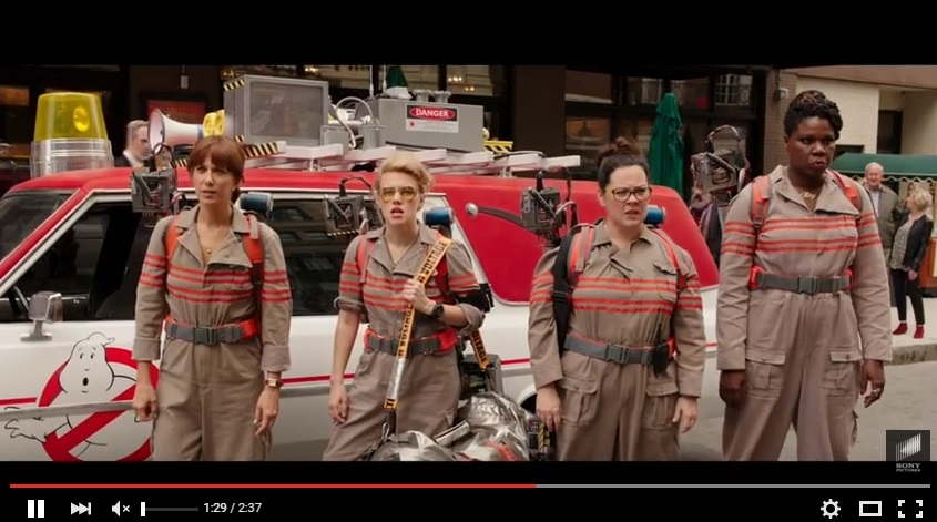 The GHOSTBUSTERS Trailer Is Here!!!!