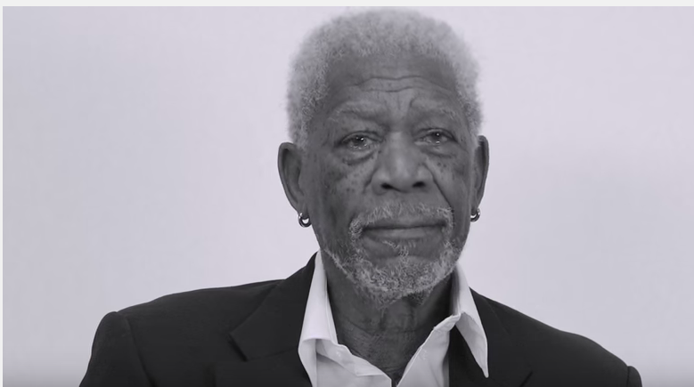 WATCH Morgan Freeman - reading JB's Love Yourself is everything you would want