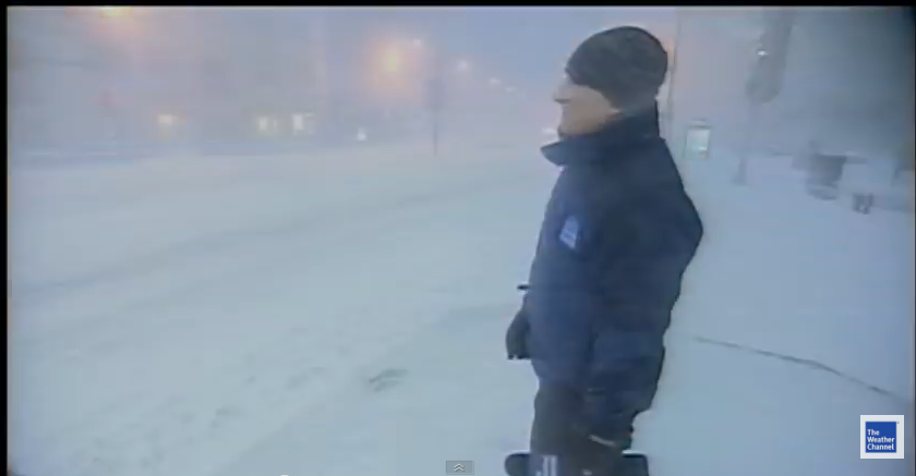 THUNDERSNOW - We just might hear it tonight - WATCH!